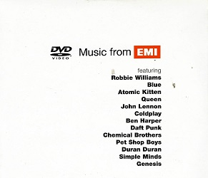 Music from EMI ( malá pošetka ) DVD