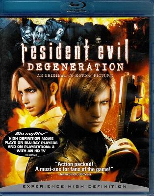 Resident evil. Degeneration ( blu-ray )
