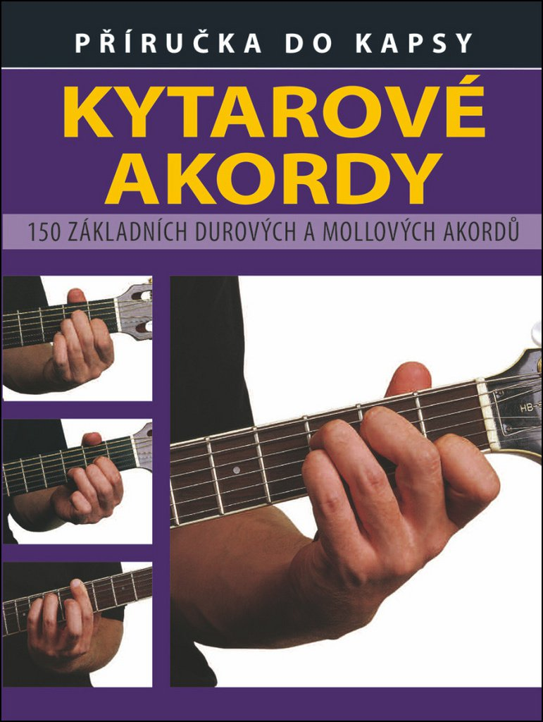 Kytarové akordy - Ted Fuller & Julian Hayman /bazarové zboží/