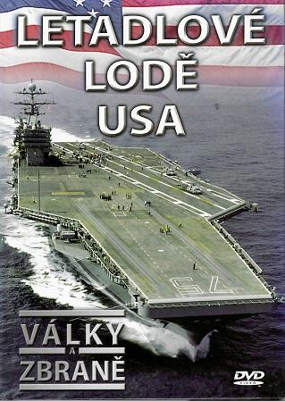 Války a zbraně 3 - Letadlové lodě USA ( DVD + brožurka ) - DVD