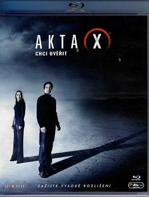 Akta X: Chci uvěřit ( blu-ray )