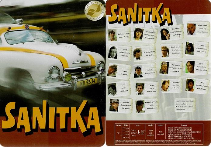 Sanitka - kompletní seriál - DVD v dárkovém plechovém boxu - bazarové zboží