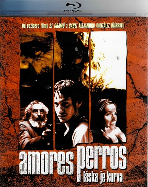 Amores perros - Láska je kurva ( Blu-ray )