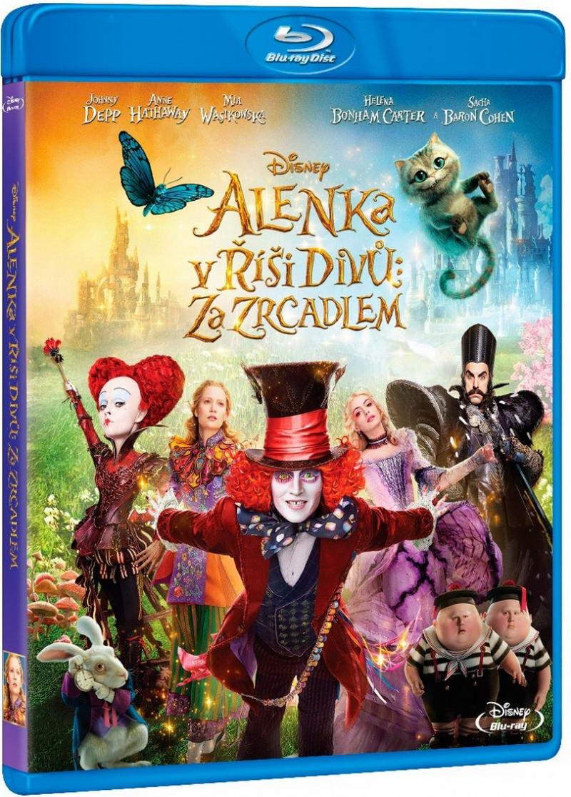 Alenka v říši divů: Za zrcadlem (Blu-ray)