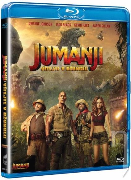 Jumanji: Vítejte v džungli! ( Blu-ray )