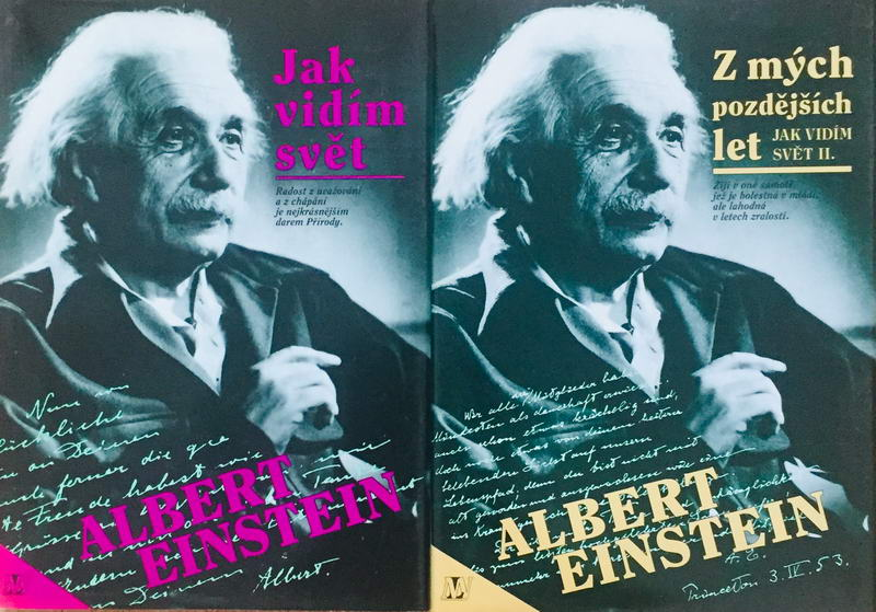 Knižní kolekce Albert Einstein - 2 x kniha /bazarové zboží/