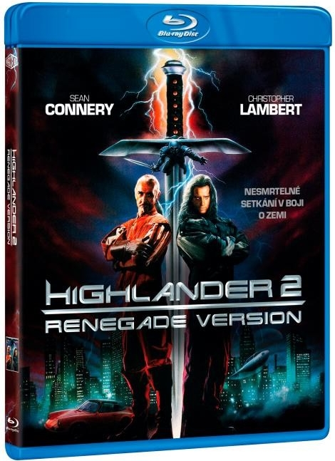 Highlander 2 - Renegade Version (Blu-ray)