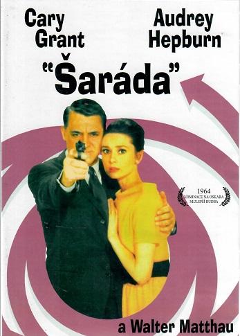 Šaráda - DVD plast - bazarové zboží