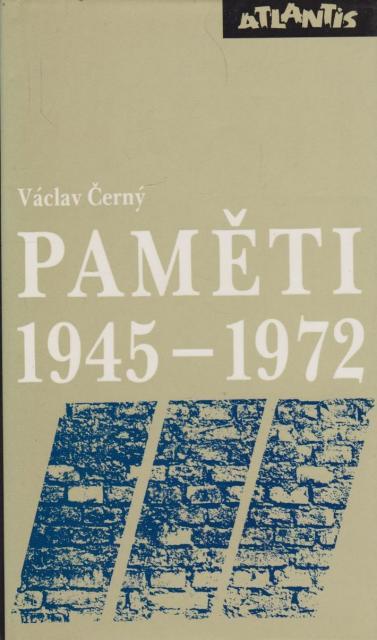 Paměti III - 1945-1972 - Václav Černý /bazarové zboží/