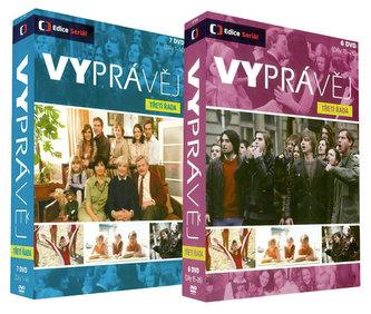 Vyprávěj - třetí řada - DVD plast - bazarové zboží