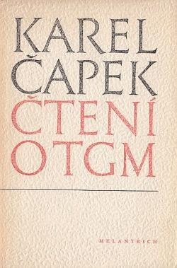 Čtení o TGM - Karel Čapek /bazarové zboží/