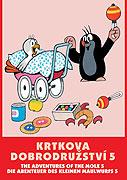 Krtkova dobrodružství 5 - DVD pošetka