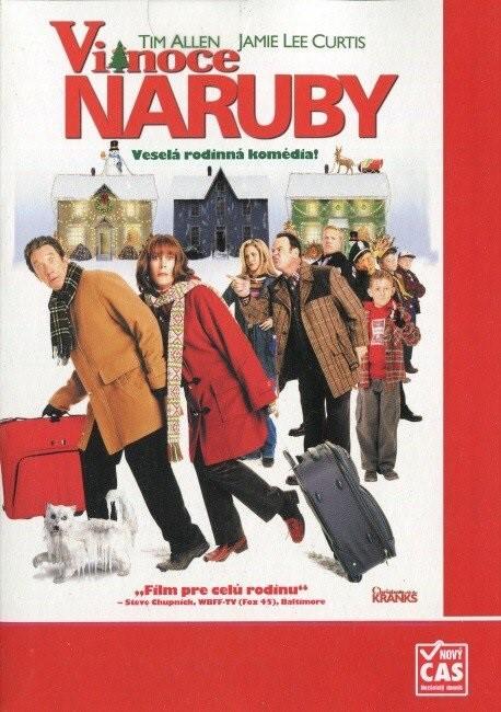 Vianoce naruby/ Vánoce naruby - pošetka DVD