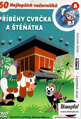 Příběhy cvrčka a štěňátka ( pošetka ) DVD