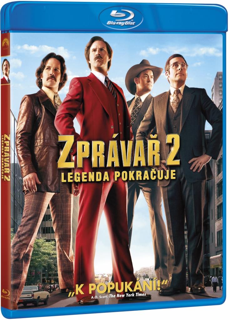 Zprávař 2 - Legenda pokračuje - Blu-ray Disc