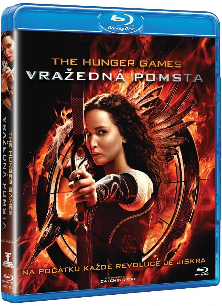 The Hunger Games - Vražedná pomsta - Blu-ray Disc