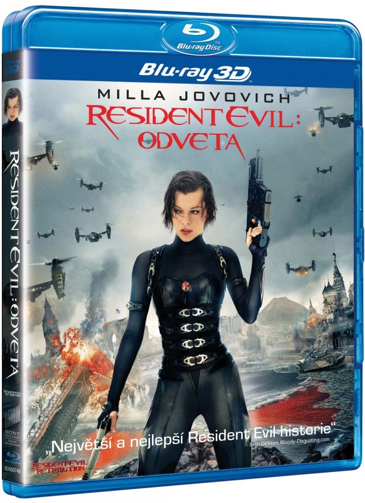Resident Evil - Odveta - 2x3D - Blu-ray Disc