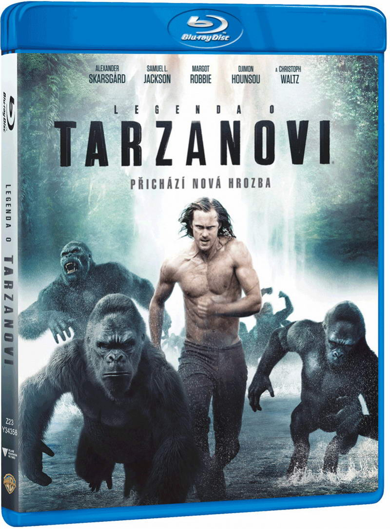 Legenda o Tarzanovi - Blu-ray Disc