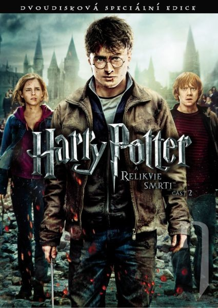 Harry Potter a Relikvie smrti - část 2. 2DVD
