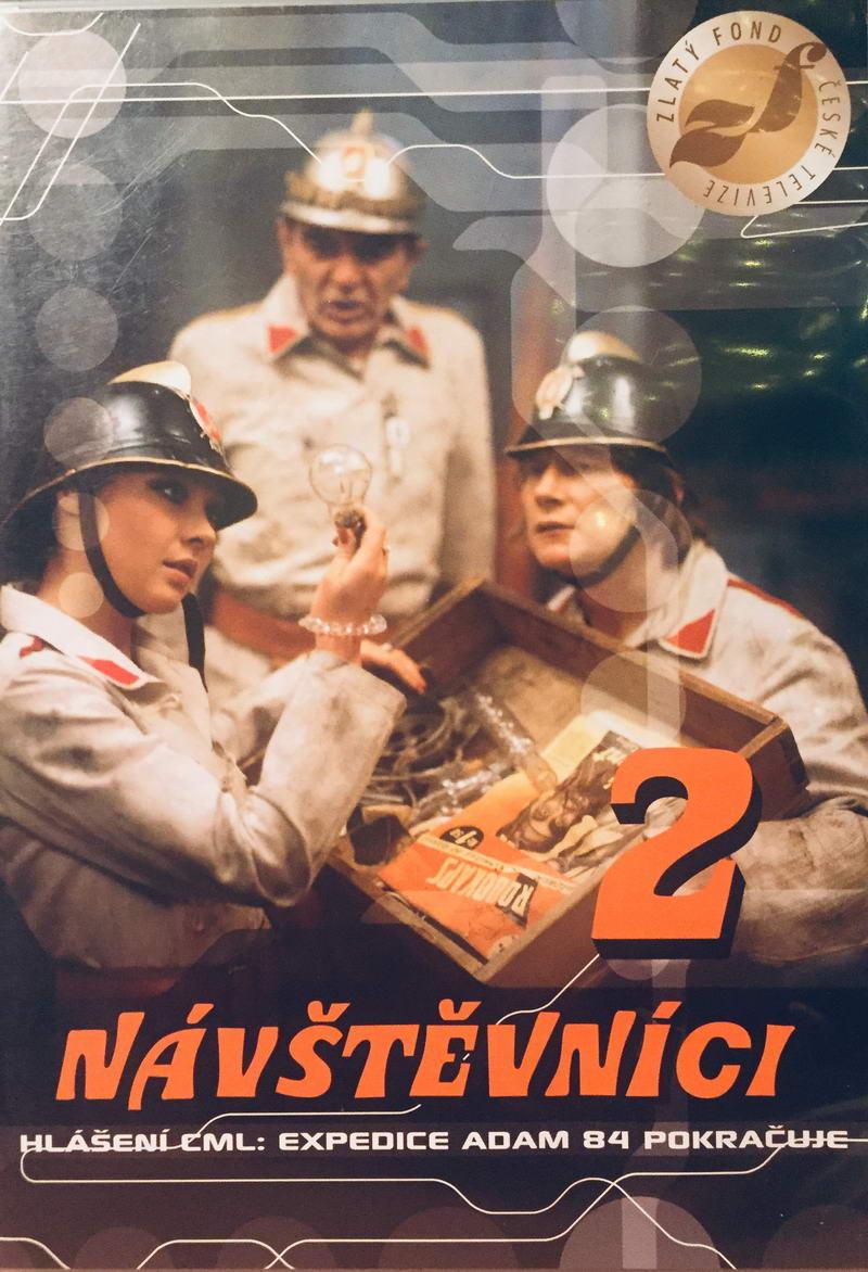 Návštěvníci 2 - český seriál - DVD /plast/