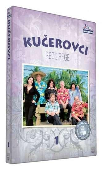Kučerovci 1 - Rege Rege - DVD+CD /plast/