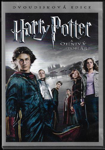 Harry Potter a Ohnivý pohár - Dvoudisková edice - 2xDVD /plast/