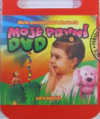 Moje první DVD - Malá miminkovská akademie - DVD /plast/