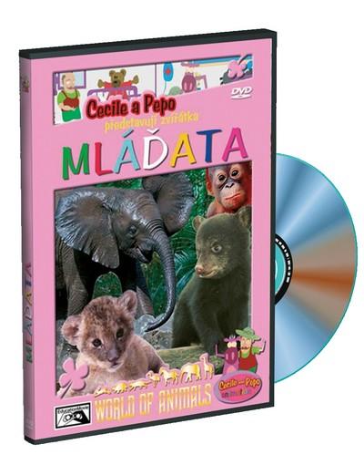 Cecile a Pepo představují zvířátka - Mláďata - DVD /plast/