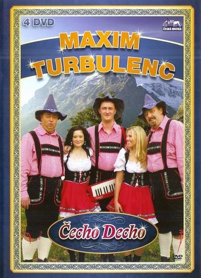 Maxim Turbulenc - Čecho Decho - 4xDVD /plast/