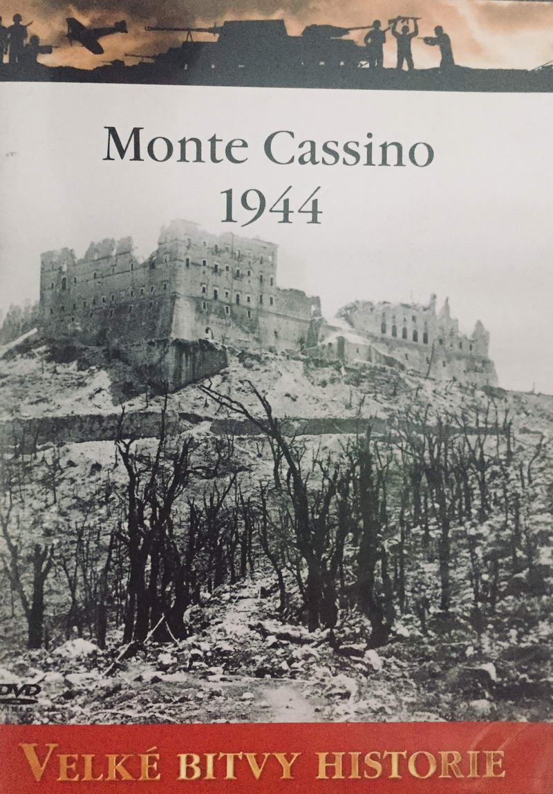 Velké bitvy historie - Monte Cassino 1944 - DVD /slim/