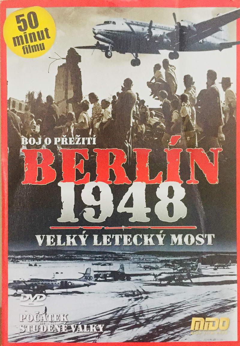 Berlín 1948 - Velký letecký most - DVD /pošetka/