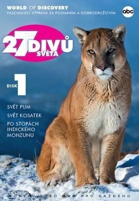 27 divů světa - disk 1 - DVD /pošetka/
