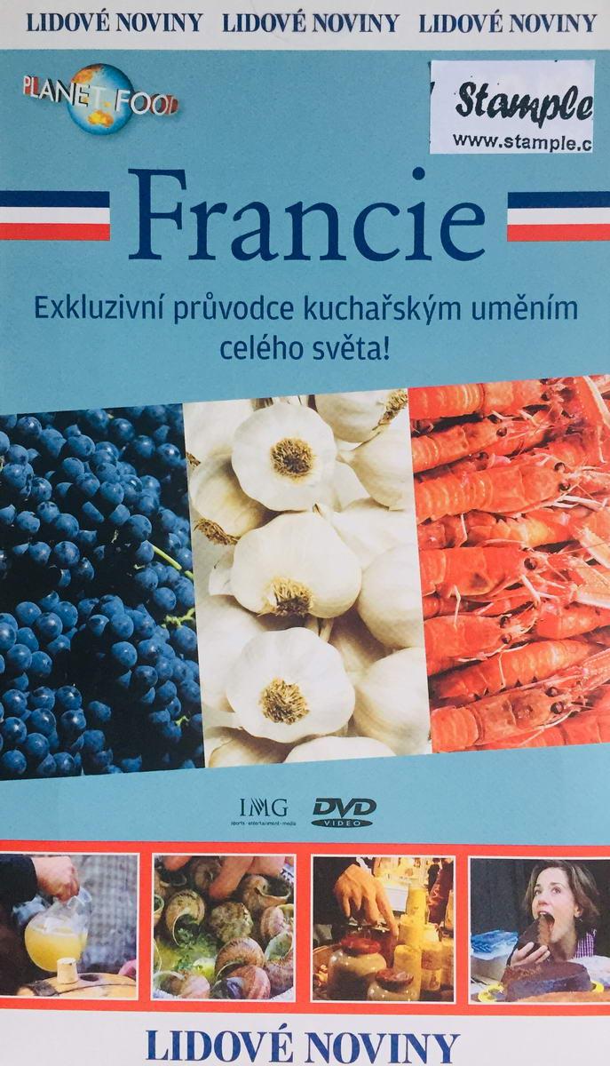 Planet Food - Francie - DVD /pošetka/