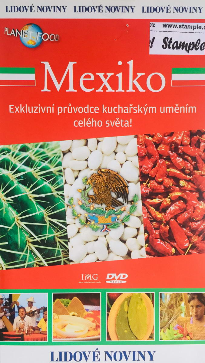 Planet Food - Mexiko - DVD /pošetka/