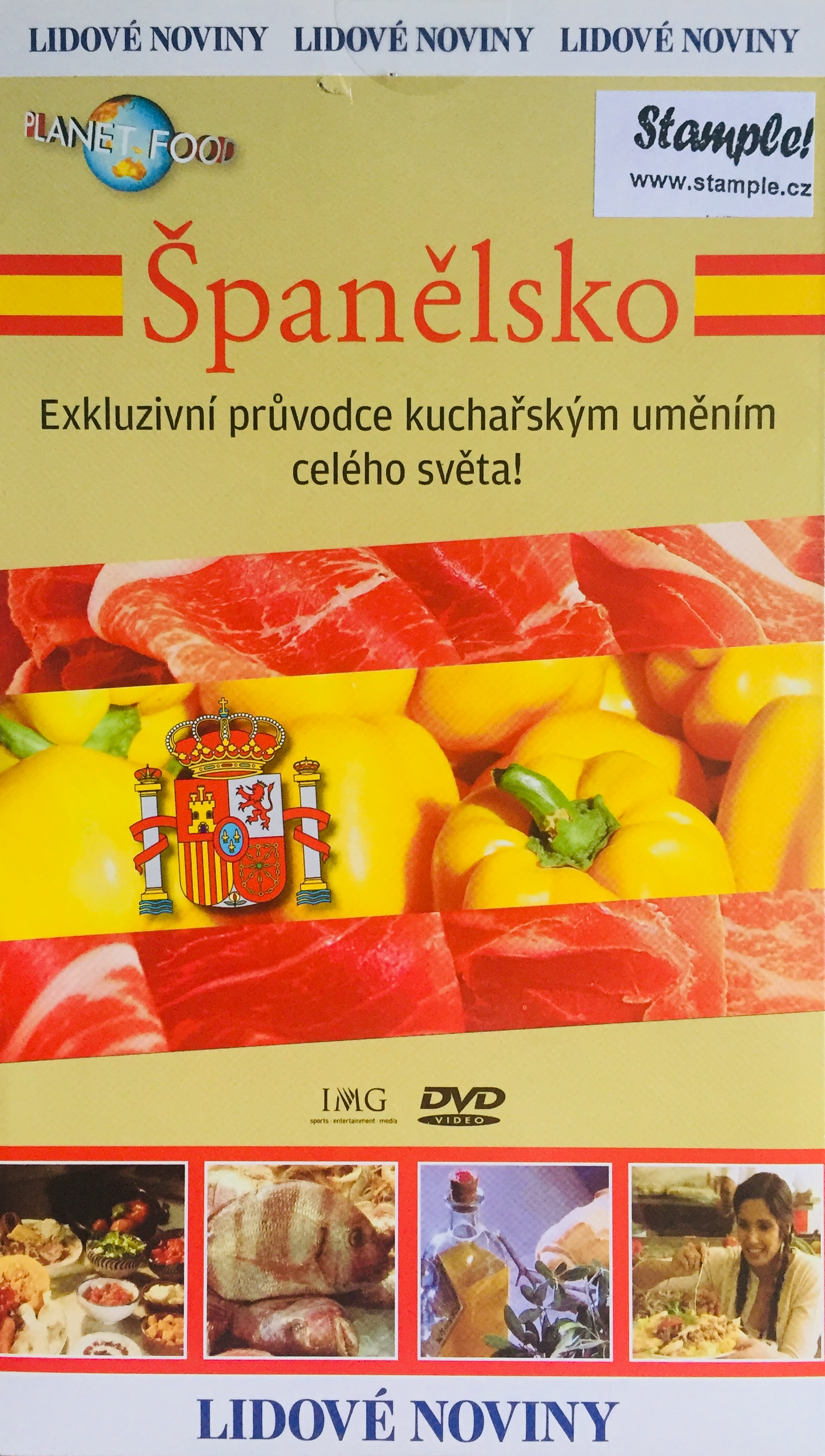 Planet Food - Španělsko - DVD /pošetka/
