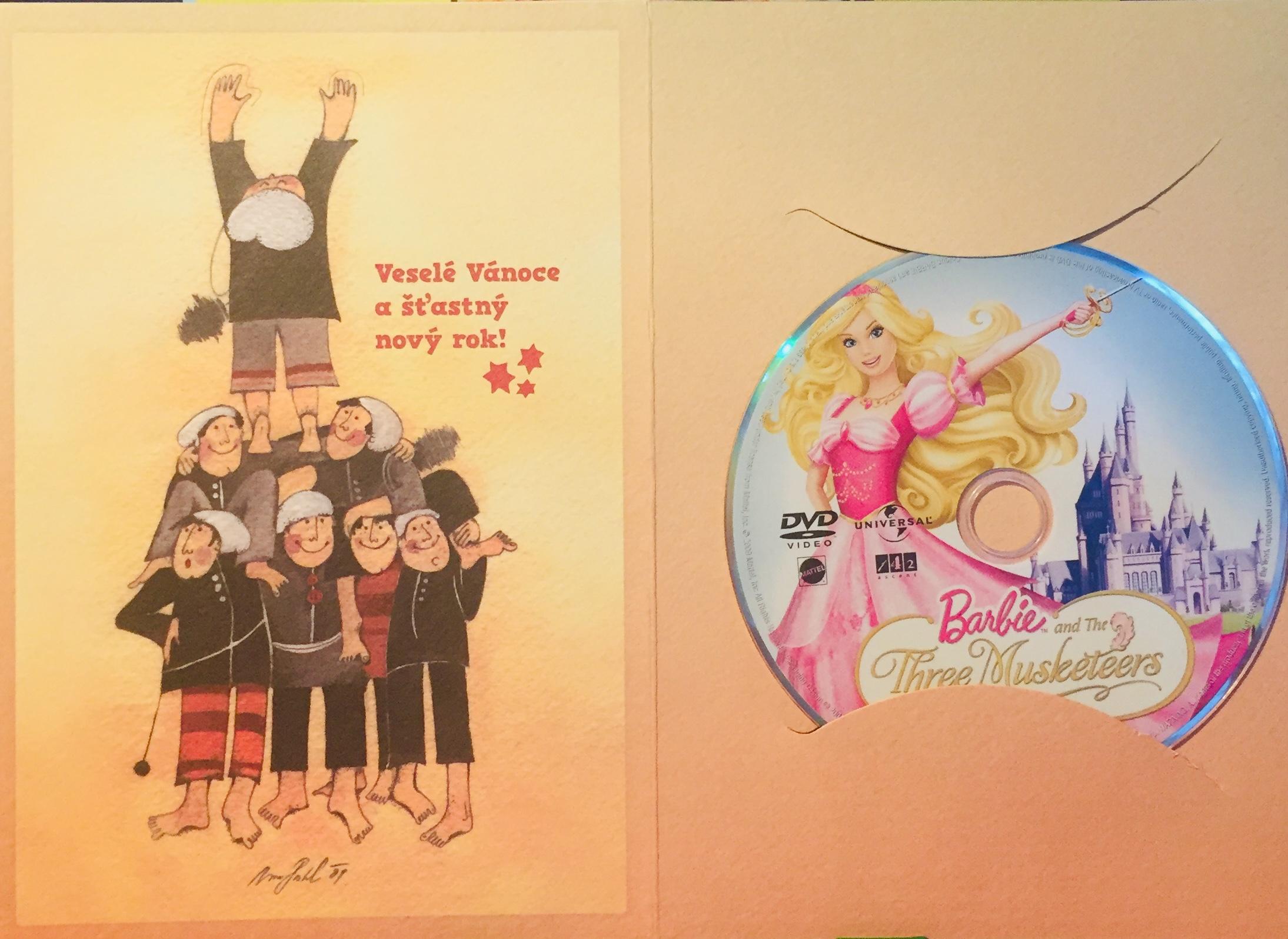Barbie a Tři mušketýři - DVD /dárkový obal/