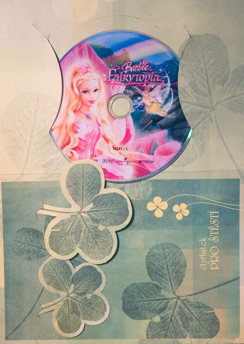 Barbie  - Fairytopia - DVD /dárkový obal/