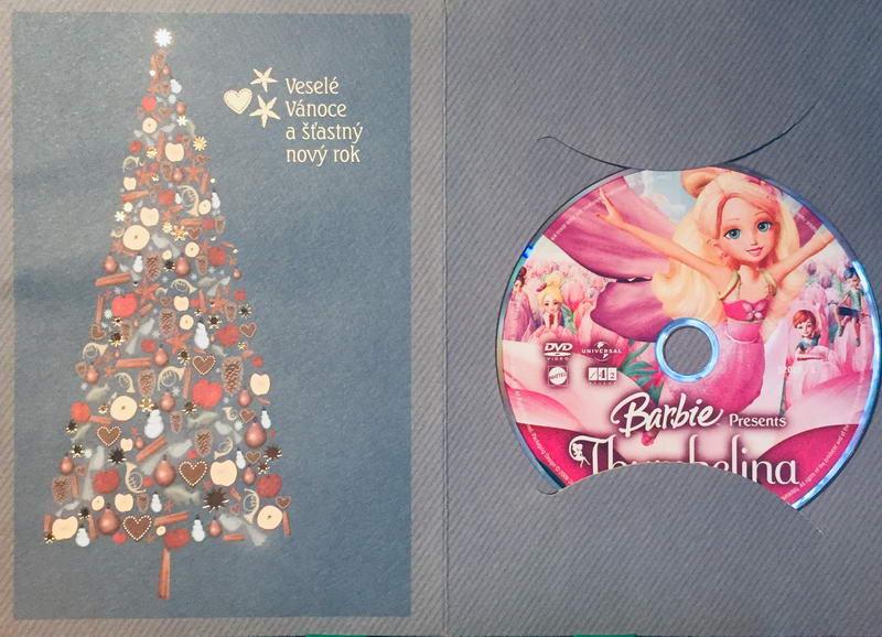 Barbie Thumbelina - DVD /dárkový obal/