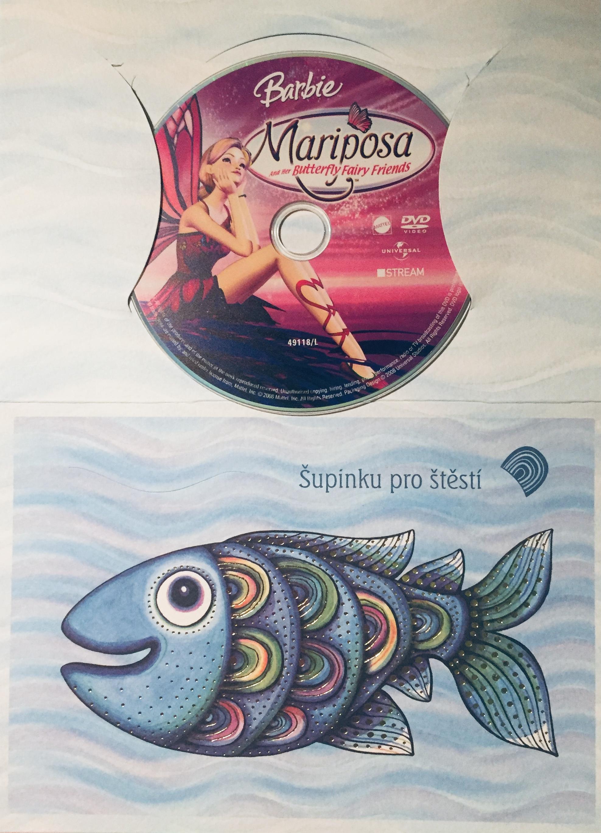 Barbie - Mariposa motýlí víla - DVD /dárkový obal/