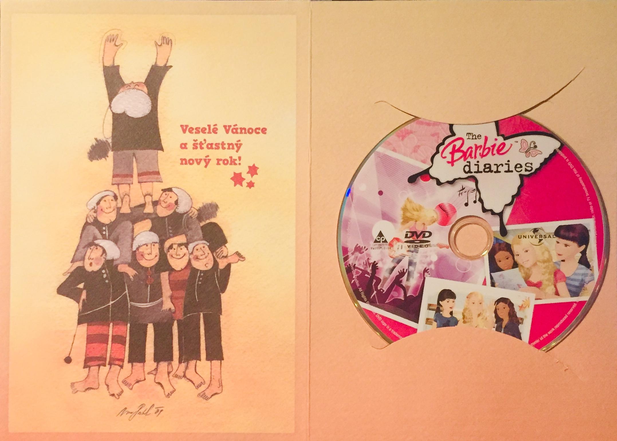 Barbie - Deníček - DVD /dárkový obal/