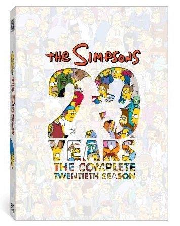 Simpsonovi - 20 years - The Complete 20th Season - 3xDVD /nekompletní//papírový obal v šubru//bazarové zboží/