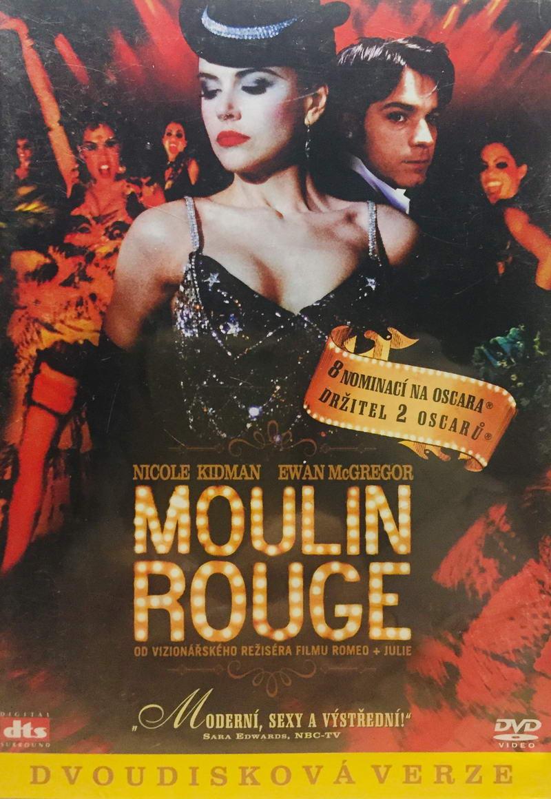Moulin Rouge - dvoudisková verze - 2xDVD /plast/