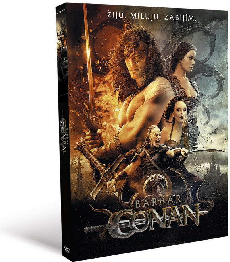 Barbar Conan - digipack DVD