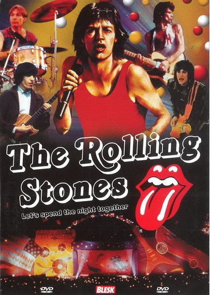The Rolling Stones - Let's spend the night together - DVD /plast/