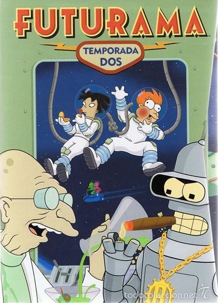 Futurama - 2. sezóna - 4xDVD /plast v šubru/