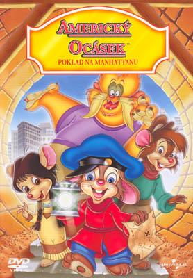 Americký ocásek - Poklad na Manhattanu - DVD /slim/
