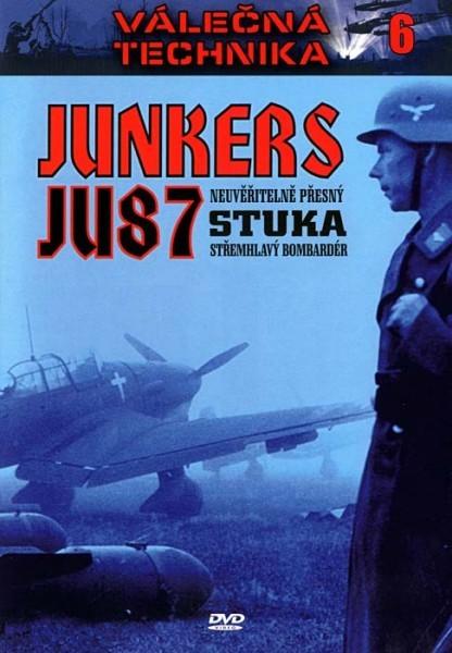 Válečná technika - Junkers JU87 Stuka - DVD /slim/