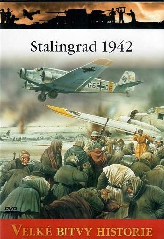 Velké bitvy historie - Stalingrad 1942 - DVD /slim/