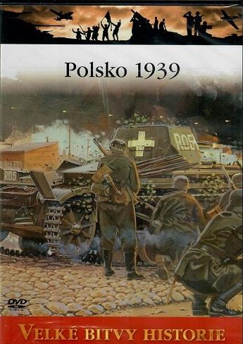 Velké bitvy historie - Polsko 1939 - DVD /slim/