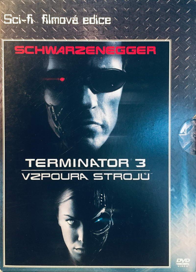Terminator 3 - Vzpoura strojů - DVD /digipack/